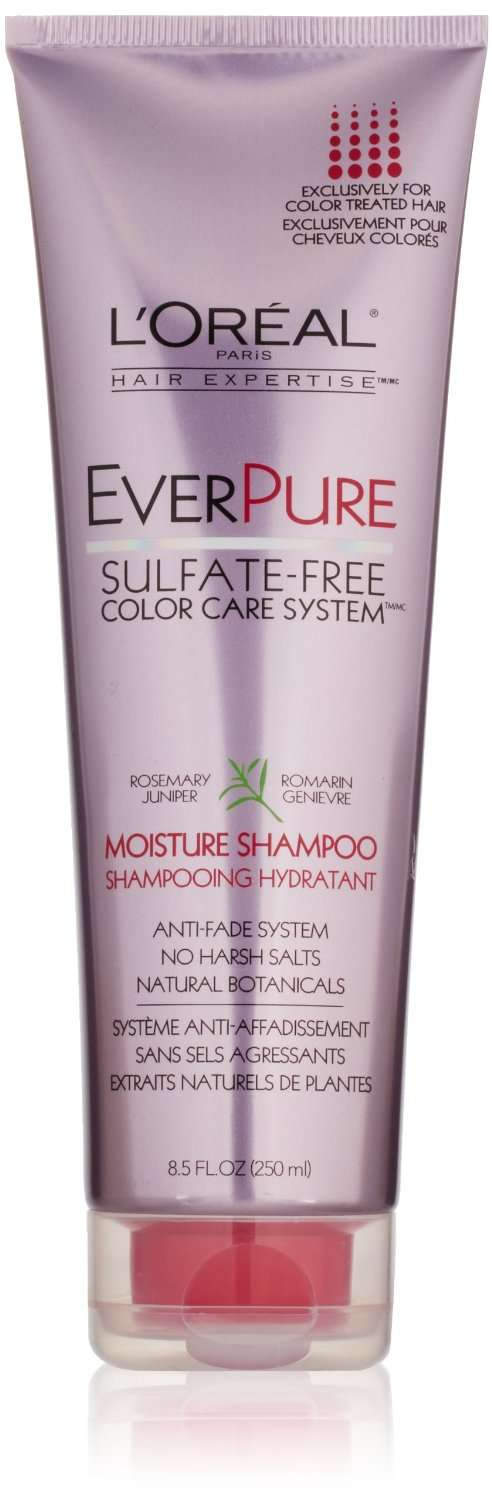 Best sulfate free shampoo for color treated hair
