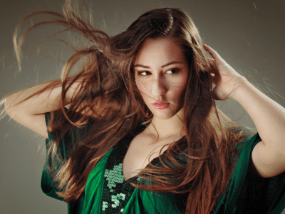 how to achieve messy hair