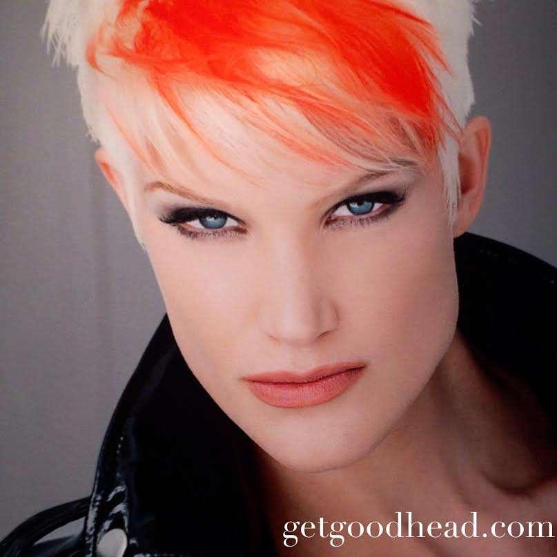 Orange Hair Model Get Good Head