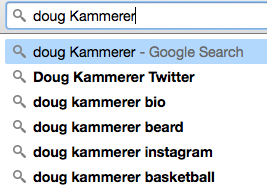 doug jammerer beard