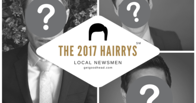 2017 HAIRRY Awards Local Newsmen