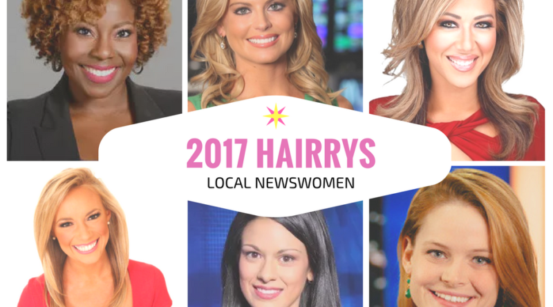 Local Newswomen With The Best Hair 2017 | The HAIRRY-Awards