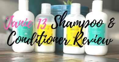 Janie 13 shampoo and conditioner review