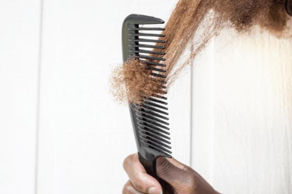 comb natural kinky hair